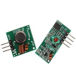 Módulo Receptor E Transmissor De RF Freq. 433MHz Para Arduino