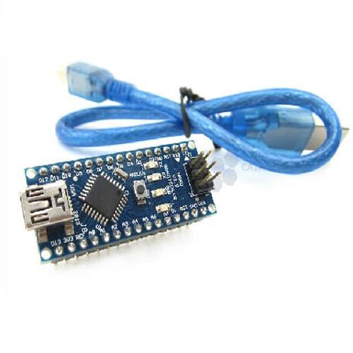Nano V3 Ch340 Com Cabo USB 5V Compatível Com Arduino