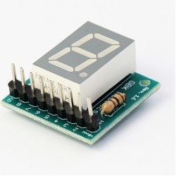 P11 Módulo Display 7 Segmentos Simples Para Arduino