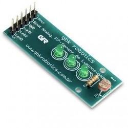 P7 Módulo Sensor De Luz Com LED Para Arduino