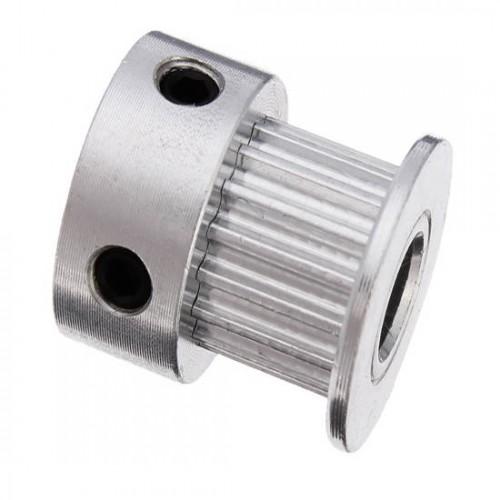 Polia MXL 20 Dentes Eixo De 5mm Largura De 7mm