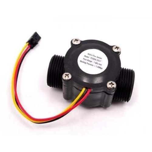 Sensor De Fluxo De Água 1/2 Pol. 1-30 L/min 5-24V Para Arduino
