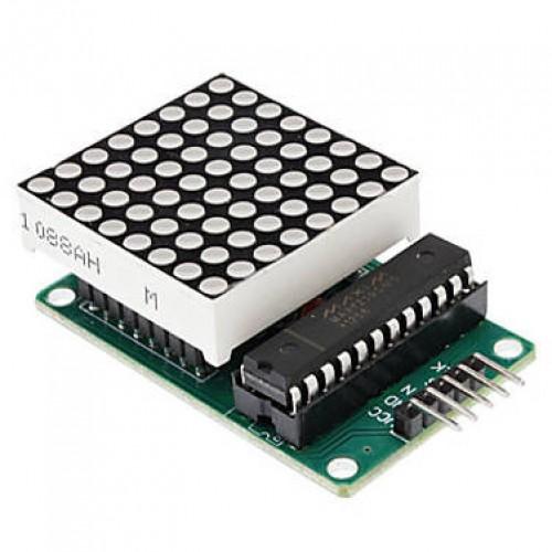 Sinalizador Modulo Matriz LED 8x8 CI MAX7219 Para Arduino