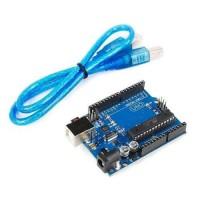UNO R3 DIP Atmega328P Com Cabo - Compatível Com Arduino
