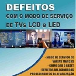 Livro Resolvendo Defeitos com o Modo de Serviço de TVs LCD e LED.