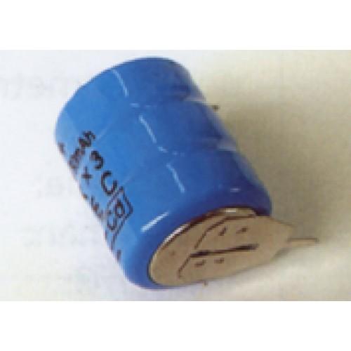 Bateria 3,6V 60ma/h Azul Ni-Cd
