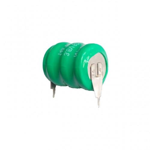 Bateria 3,6V 60mAh Verde Ni-Cd