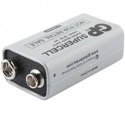 Bateria 9V Marca GP Modelo Supercell GP1604S - 6F22