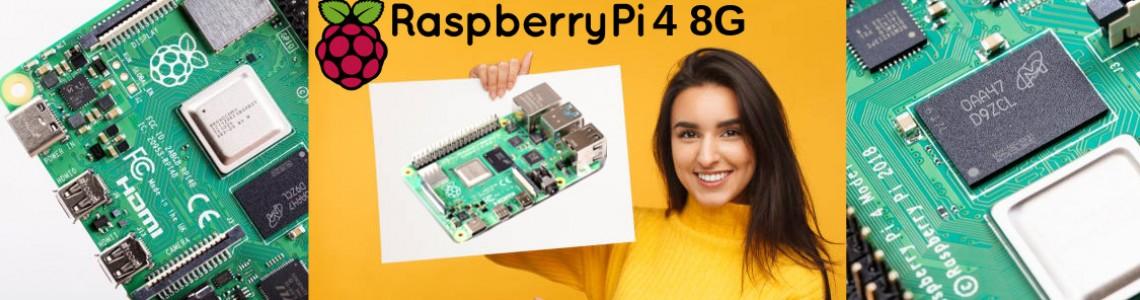 Lançado o Raspberry PI 4 de 8GB