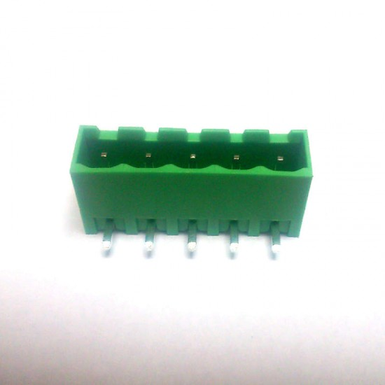 Borne 2EDGRC-5,0 Macho 90 Graus 5 Terminais