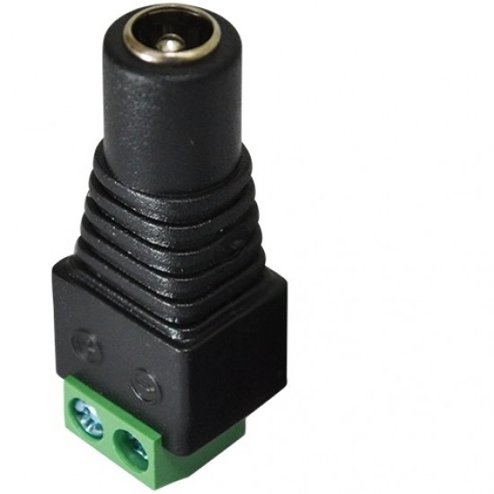 Adaptador Borne KRE Para Jack J4 2,1mm - FL-03-2