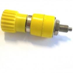Borne Para Pino Banana Amarelo Ref: 60 53,5mm X 17,5mm