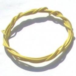 Cabinho Flexivel Amarelo 0,14mm (Metro)