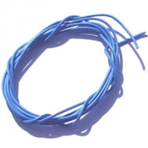 Cabinho Flexivel Azul 0,50mm (metro)