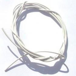 Cabinho Flexível Branco 0,20mm (Metro)