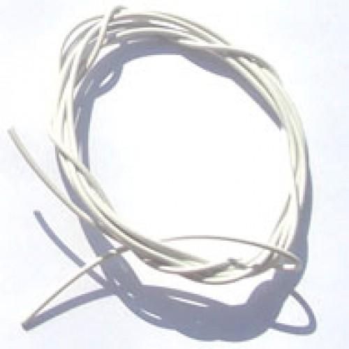 Cabinho Flexível Branco 0,50mm (Metro)