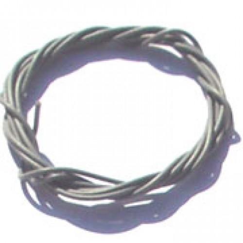 Cabinho Flexível Cinza 0,20mm (Metro)