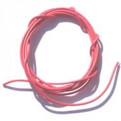 Cabinho Flexível Vermelho 1,00mm (metro)