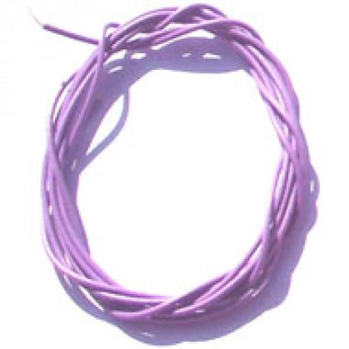 Cabinho Flexível Violeta/lilás 0,20mm (Metro)