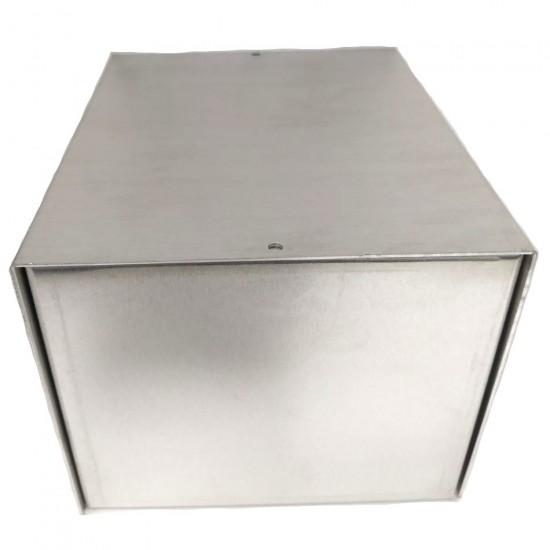 Caixa De Alumínio CA-101215  100X120X150mm