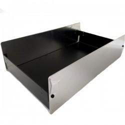 Caixa De Alumínio Chassi De Ferro CAP-83018  80X300X180mm