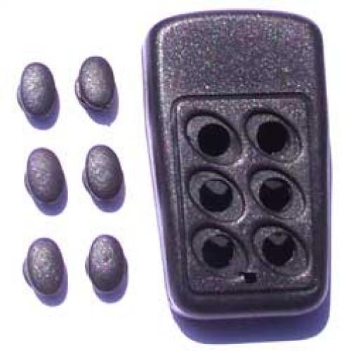 Caixa Patola CR-097/6 18x40x67 (botoes Pretos)