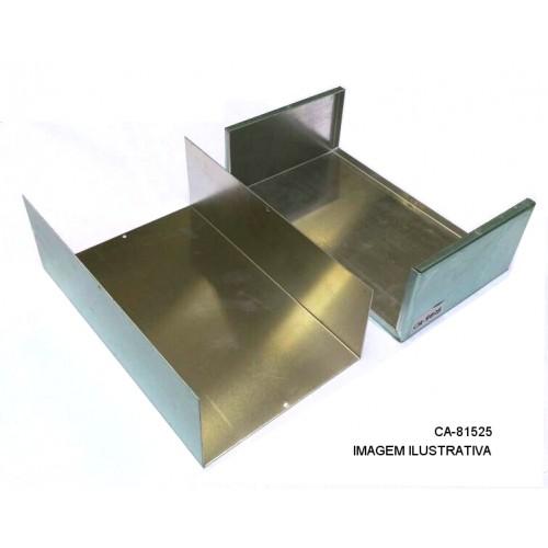 Caixa De Alumínio CA-81525  80X150X250mm
