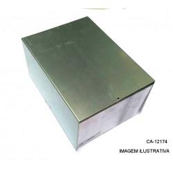 Caixa De Alumínio CA-121724  120X170X240mm
