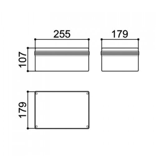 Caixa Patola PB-255 110x175x255mm