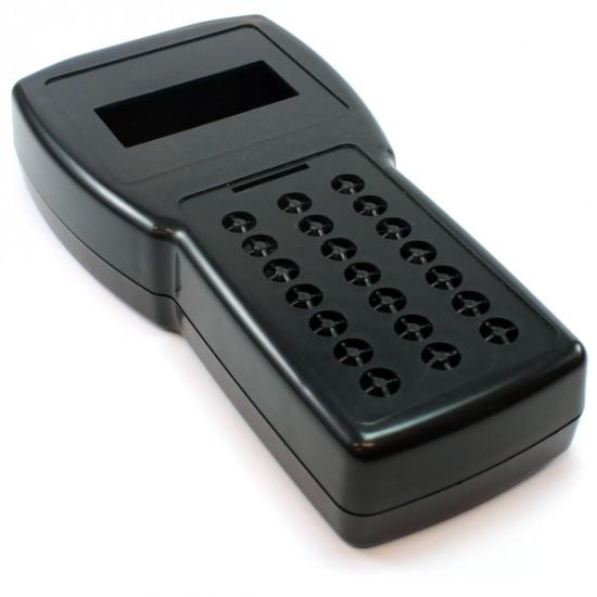 Caixa Patola Para Coletor De Dados Furo Display E Teclado Preto
