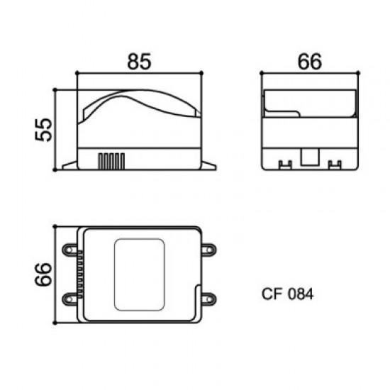 Caixa Patola CF-084 55x66x85mm