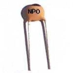Capacitor Disco Ceramico 13pF X 50V NPO