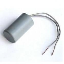 Capacitor De Partida 10uF X 380V  Frequência: 50/60Hz Com Cabo Temperatura: -25+85ºC
