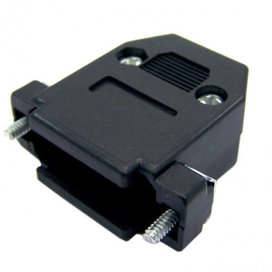 Capa Para Conector DB15 Com Kit Curto Preto