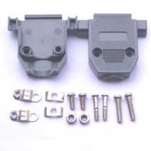 Capa Para Conector DB15 Com Kit Curto Cinza