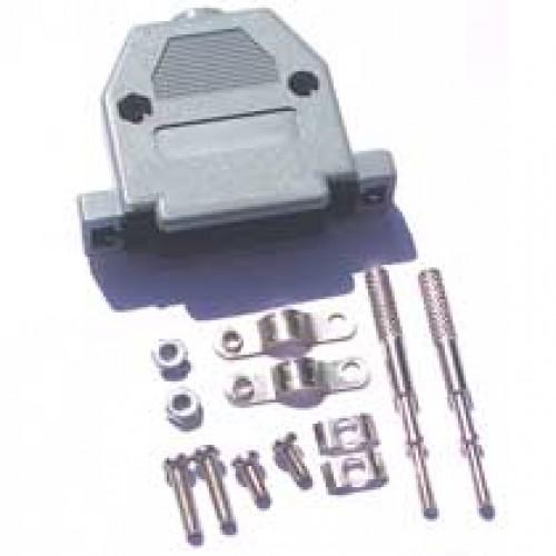Capa Para Conector DB25 Com Kit Longo Cinza