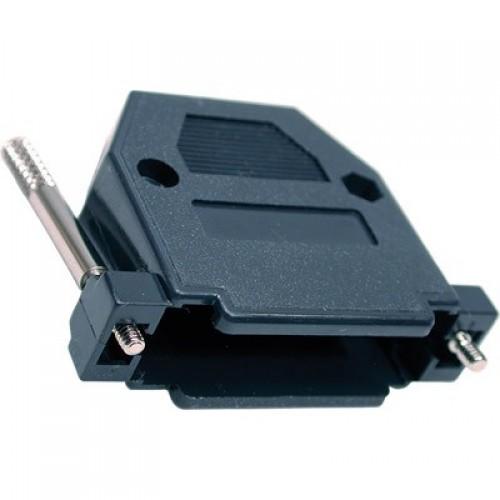 Capa Para Conector DB25 Com Kit Longo Preto