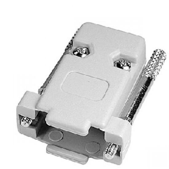 Capa Para Conector DB9 Cinza Com Kit Longo