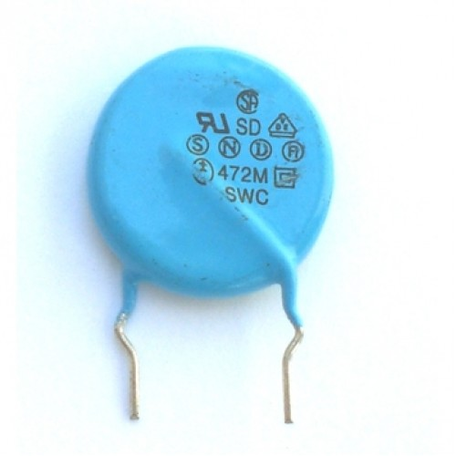 Capacitor Disco Cerâmico 4,7nF X 2KV (4K7/4,7KpF/472)