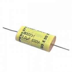 Capacitor Poliester Epcos 1uF X 630V (1M/105) B32231D8105K0