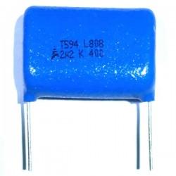 Capacitor Poliester Epcos 2,2uF x 400V B32594c6225K8