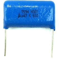 Capacitor Poliester Epcos 470nF X 630V (474/470KPF/0,47uF) B32523