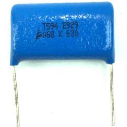 Capacitor Poliester Epcos 680nF X 630V (684/680KPF/0,68uF) B32523