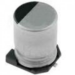 Capacitor Eletrolitico SMD 10uF X 50V (6mmx5mm)
