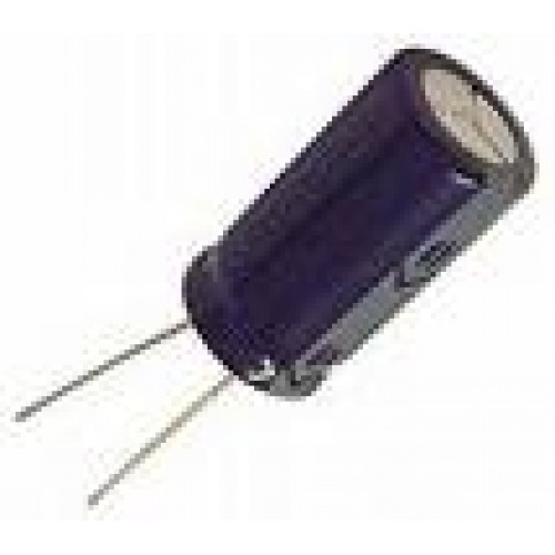 Capacitor Eletrolítico 1uF X 50V