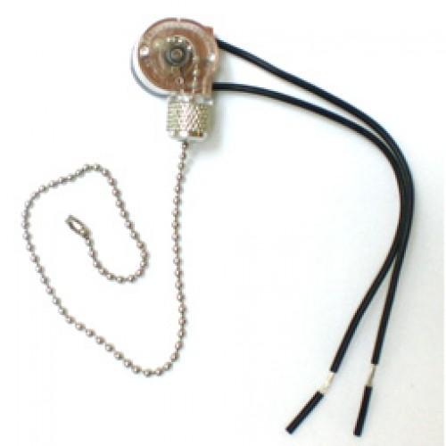 Chave Corrente KLX-101 Para Ventilador Teto Liga-Desliga
