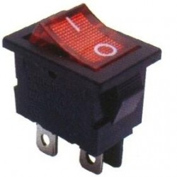 Chave Gangorra KCD1-104N Vermelha Com Neon