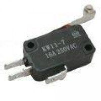 Chave Micro Switch KW11-7-2-3T 29mm Com Roda