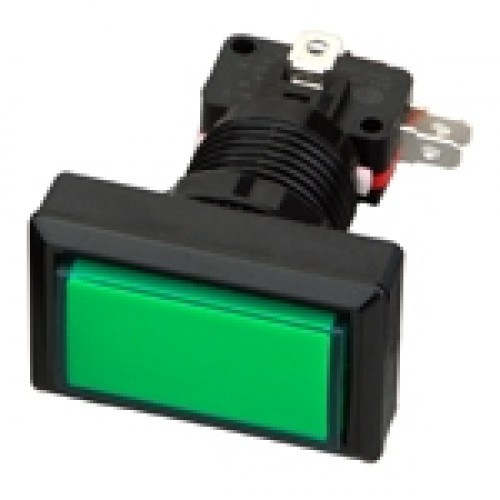 Chave PBS-34 Verde (Tipo Push Button)