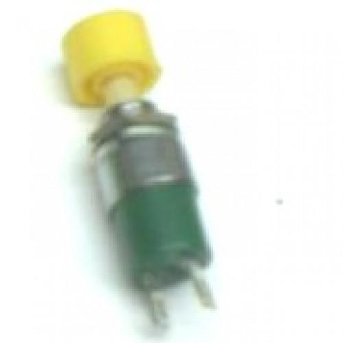 Chave Push Button DS-323 Amarela
